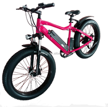 26*4.0inch 500w 750w 1000w bafang motor full suspension fat tire electric fat bike/electric mountain bicycle