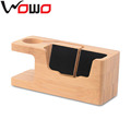2017 Watch wooden Stand with phone stand