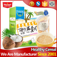 Good taste gift box packing Shredded Coconut Milk instant cereal