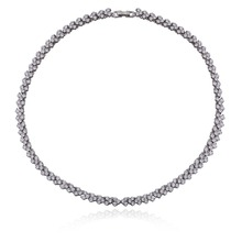 fashoin latest design zircon beads necklace accessories for women