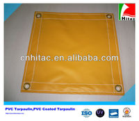 1000D*1000D 610g PVC Yellow Tarps,Yellow Tarps Poly Vinyl