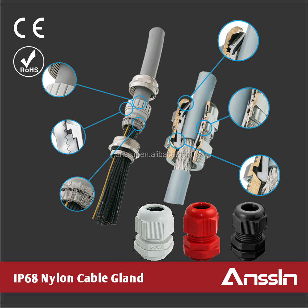 cable gland accessories waterproof rubber cable gland