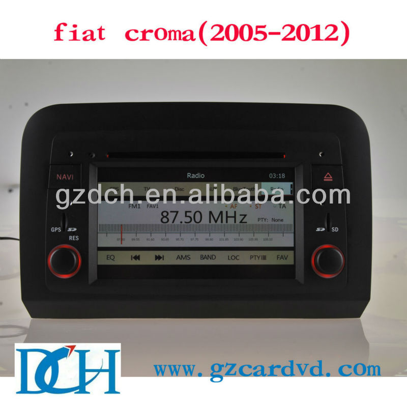 car radio dvd gps navigation system for fiat croma(2005-2012) WS-8729
