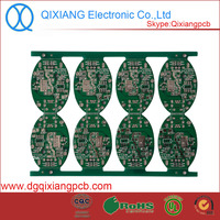 1.6mm thickness quality Hasl electronic pcb mp3 with fr4 material