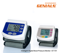 China Digital Sphygmomanometer Manufacturer Portable Wrist watch blood pressure monitor