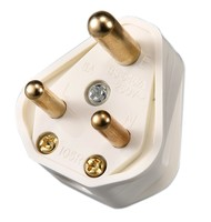 3 round pin power plug 5A electric plug and socket for wiring popular in India and Pakistan