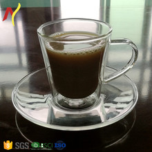 Alibaba best seller 70ml glass espresso mug for coffee and tea