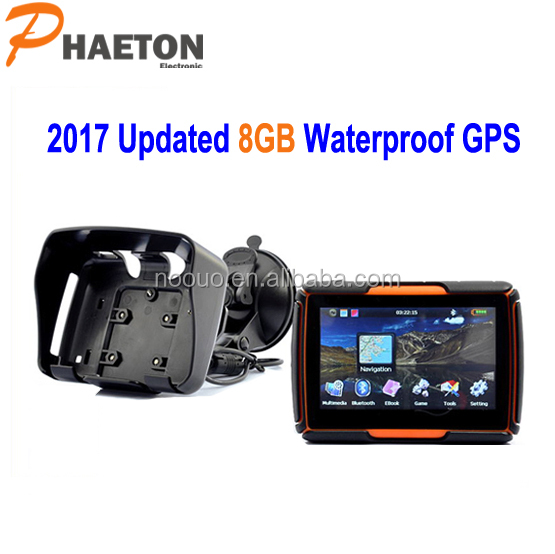 Differential gps 4.3inch MSB2531 800MHZ motorcycle waterproof GPS navigation