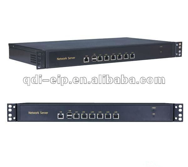 1 U Network Server with 6 Lan ports NS-G416L