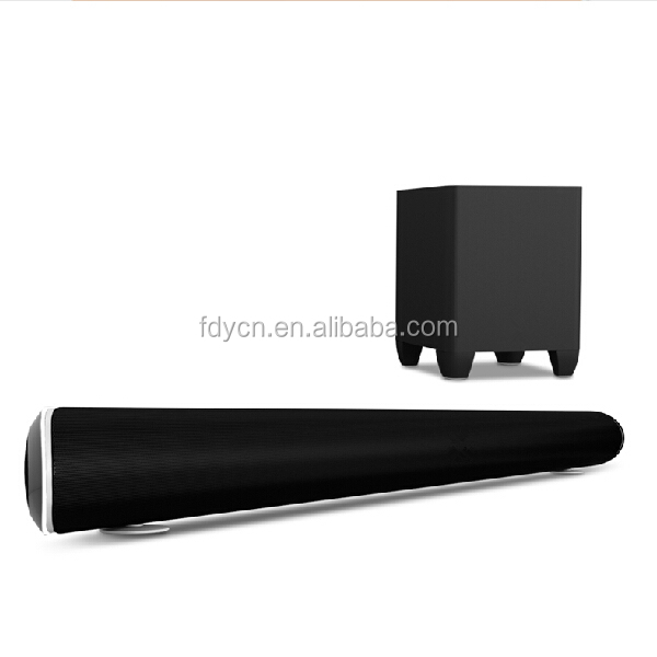 Hot seller soundbar system for TV , bluetooth speaker with wireless subwoofer