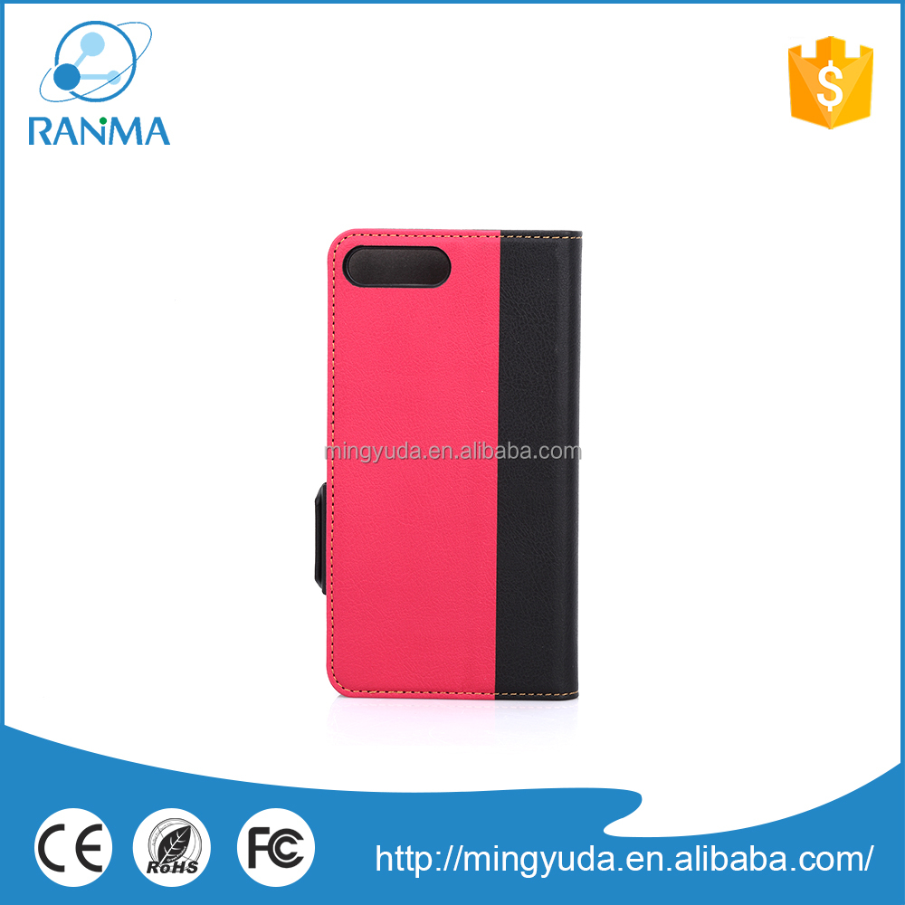 Cell Accessories Manufacturer free sample mobile phone leather case for iphone 7
