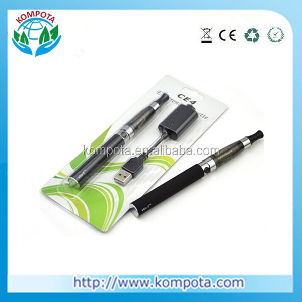 Kompota Top selling electronic cigarette EGO CE4, ego ce4 starter kit With Superior Quality