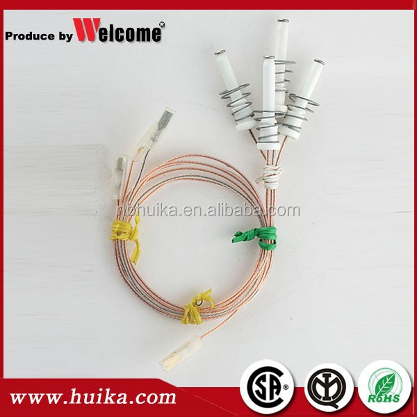 Teflon Ignitor wire for oven burner