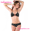 Black White Dot Online Shopping Custom Cheap summer beach bikini