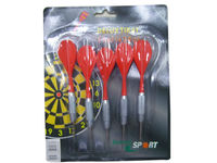 Dart Set, Includes 5 x 12g Zinc-plated Dart and PE Flights