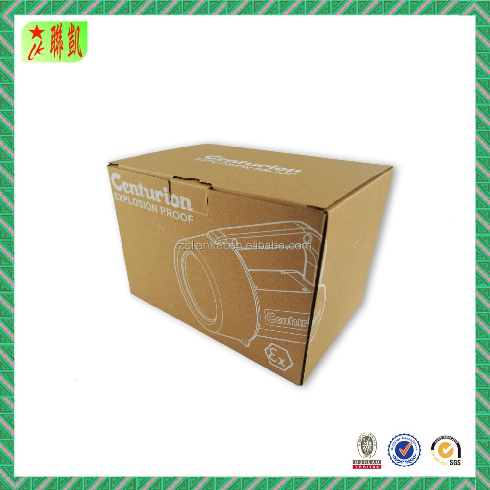 Customed Printing 1 Color Paper Box For Electronics Packaging