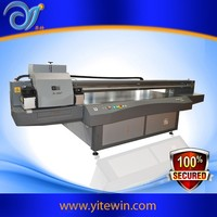 Multifunctional led uv flatbed solvent inkjet digital panel gold foil all-in-one printer 1325H