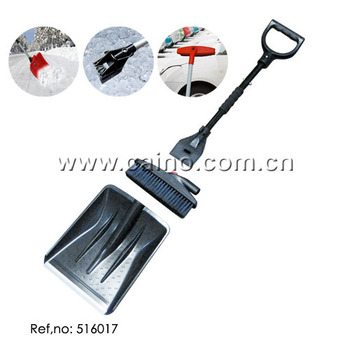 3-in-1 Auto Snow Shovel Ice Scraper Brush Group Set (516017)