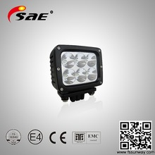 Heavy Equipment Auto Led Work Light 60w Driving Car Lamp 12v Led Working Light For Tractor Truck Offroad