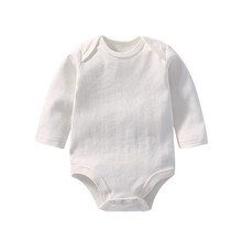 plain baby rompers set onesie white newborn