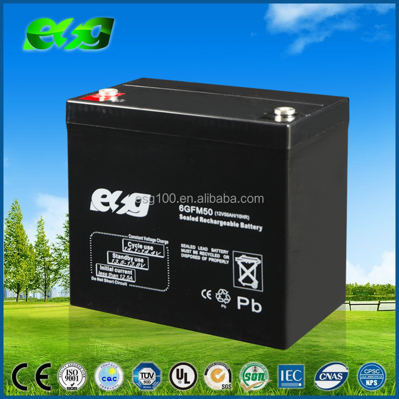 12V Lead Acid Battery UPS Inverter Batteries 12v 50Ah exide Battery