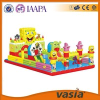 VASIA hot sale inflatable bouncer bouncy castle play game