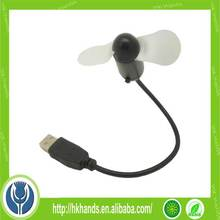 Hot Selling Micro Mini USB Fan For Power Bank Or Mobile Phone