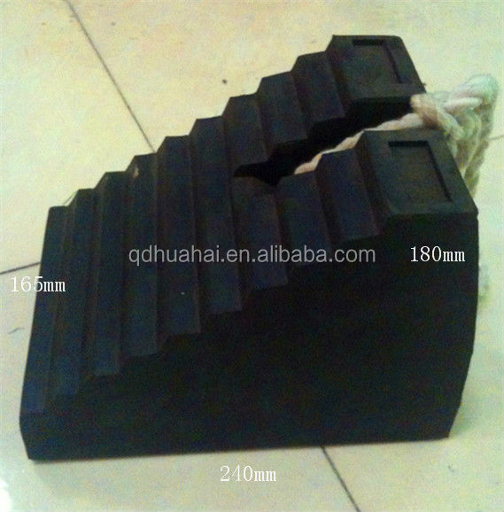 rubber wedge&wheel chock
