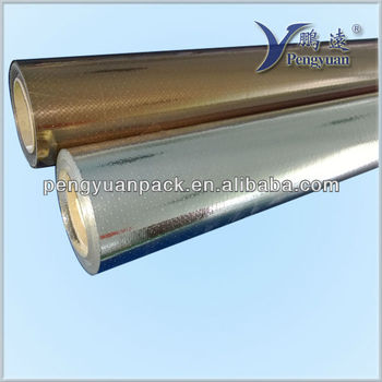 gold film laminated woven barrier film