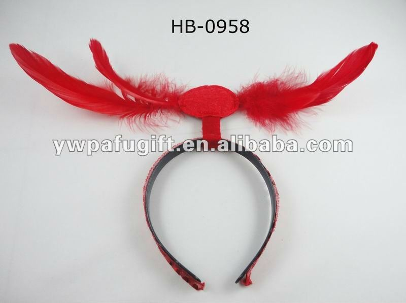 Fashion Indian feather carnival headband