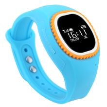 Unique Design GSM Smart Watch GPS Tracker SIM Cellphone with Pedometer GPS LBS Locator SOS Numbers Emergency Call for Kids Elder