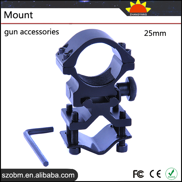 2015 Trade Assurance Supplier Gun Accessories Wholesale 25mm Flashlight Weaver Mount ,Weaver Rifle Scope Mount