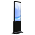 55'' Android Floor Standing Networking TFT Displays Advertising