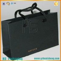 Foldable Brown kraft Gift Paper Bag / PP Rope Handle Gift Bags with best price