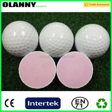 wholesale floating Rubber Core+Surlyn bulk golf range balls