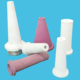 Hot pressed sand blasting ceramic nozzles for sale