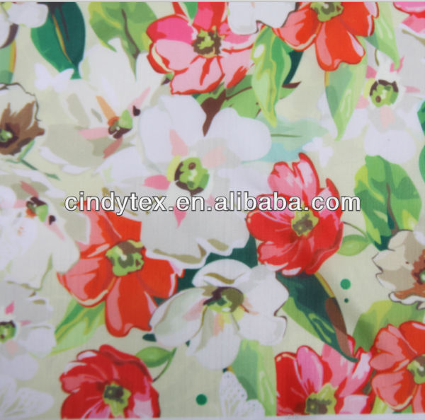 imitation digital poly print taffeta lining fabric