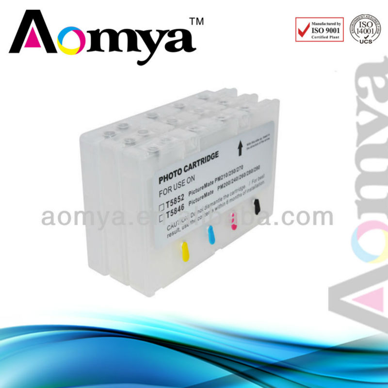 Refill inkjet ink cartridge for epson T5852 PM210 PM215 PM250 PM270 PM235