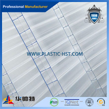 100% Lexan pc sunshine sheet / plastic roof manufacture