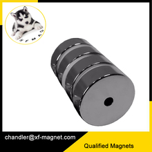NdFeB Permanent Magnets Ring Axial N40M For Loud Speaker