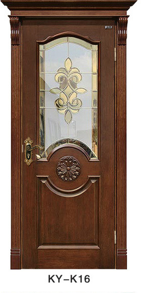 good quality hdf moulded door with door frame and hardware