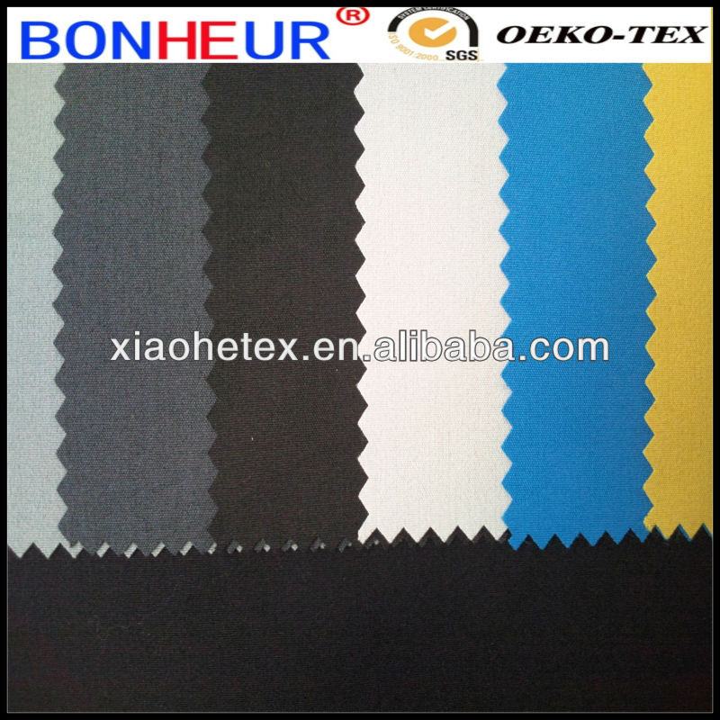 two way stretch fabric for hotel uniform tr spandex