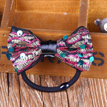 fashion girls colorful hair bow, head bands for women, scrunchies
