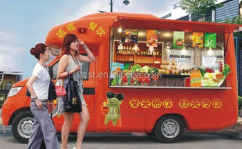 Customized Mobile Fast Food Van / Mobile Store for Sale