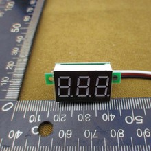 HOT SELLING Portable Digital Voltmeter DC 0-100V Red Light LED Panel Voltage Meter