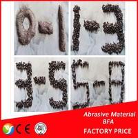 Emery belt raw material brown fused alumina / black fused aluminum oxide