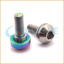 High precision hardware torx m8 titanium bolt with flange m5