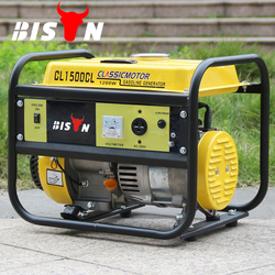 Bison China Zhejiang Reliable Gasoline Engine Four Stroke 1KW Portable Honda 1000W Generator