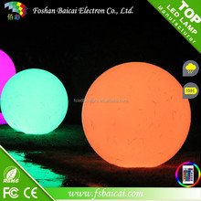 Color Changing LED Mood Light Garden Deco LED Flashing Ball Floating Ball for garden