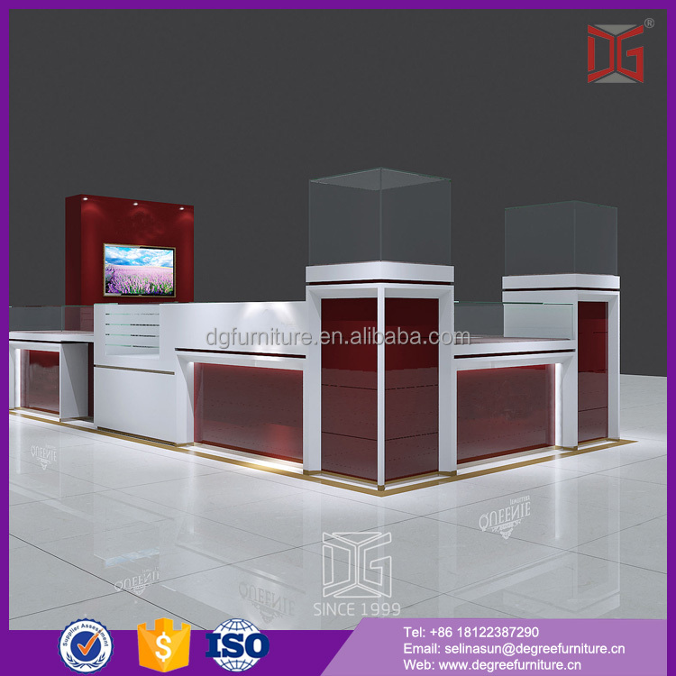 High Quality Modern Jewelry Mall Kiosk Products